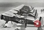 Image of P-36 Hawk aircraft of 8th Pursuit Group  Virginia USA, 1939, second 5 stock footage video 65675060998