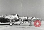 Image of P-36 Hawk aircraft of 8th Pursuit Group  Virginia USA, 1939, second 11 stock footage video 65675060998