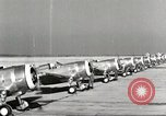 Image of P-36 Hawk aircraft of 8th Pursuit Group  Virginia USA, 1939, second 28 stock footage video 65675060998