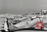 Image of P-36 Hawk aircraft of 8th Pursuit Group  Virginia USA, 1939, second 48 stock footage video 65675060998