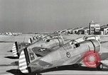 Image of P-36 Hawk aircraft of 8th Pursuit Group  Virginia USA, 1939, second 49 stock footage video 65675060998