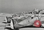 Image of P-36 Hawk aircraft of 8th Pursuit Group  Virginia USA, 1939, second 50 stock footage video 65675060998
