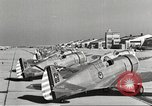 Image of P-36 Hawk aircraft of 8th Pursuit Group  Virginia USA, 1939, second 51 stock footage video 65675060998