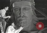 Image of huge statue of Christ Denver Colorado USA, 1934, second 24 stock footage video 65675061010