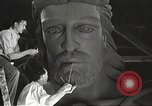 Image of huge statue of Christ Denver Colorado USA, 1934, second 27 stock footage video 65675061010