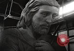 Image of huge statue of Christ Denver Colorado USA, 1934, second 35 stock footage video 65675061010