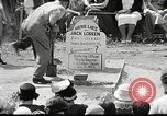 Image of Jack Loreen buried alive Chicago Illinois USA, 1934, second 23 stock footage video 65675061013