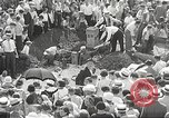 Image of Jack Loreen buried alive Chicago Illinois USA, 1934, second 35 stock footage video 65675061013