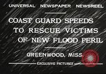 Image of Flood in Mississippi Greenwood Mississippi USA, 1932, second 4 stock footage video 65675061016