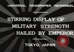 Image of Emperor Hirohito Tokyo Japan, 1932, second 2 stock footage video 65675061018