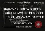Image of train Colorado United States USA, 1932, second 1 stock footage video 65675061019
