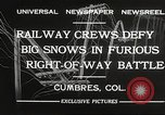 Image of train Colorado United States USA, 1932, second 2 stock footage video 65675061019