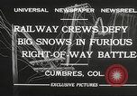 Image of train Colorado United States USA, 1932, second 6 stock footage video 65675061019