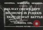 Image of train Colorado United States USA, 1932, second 9 stock footage video 65675061019