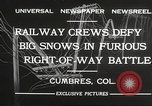 Image of train Colorado United States USA, 1932, second 11 stock footage video 65675061019