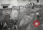 Image of workers Herculaneum Italy, 1932, second 18 stock footage video 65675061020