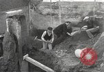 Image of workers Herculaneum Italy, 1932, second 31 stock footage video 65675061020
