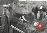 Image of workers Herculaneum Italy, 1932, second 34 stock footage video 65675061020