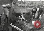 Image of workers Herculaneum Italy, 1932, second 35 stock footage video 65675061020