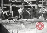 Image of workers Herculaneum Italy, 1932, second 51 stock footage video 65675061020