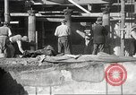 Image of workers Herculaneum Italy, 1932, second 52 stock footage video 65675061020