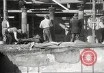 Image of workers Herculaneum Italy, 1932, second 53 stock footage video 65675061020