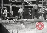 Image of workers Herculaneum Italy, 1932, second 54 stock footage video 65675061020