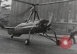Image of wingless gyro airplane Paris France, 1934, second 37 stock footage video 65675061026