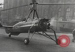 Image of wingless gyro airplane Paris France, 1934, second 38 stock footage video 65675061026