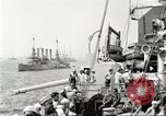 Image of US Navy Destroyer launches torpedo New York City USA, 1920, second 7 stock footage video 65675061036