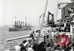 Image of US Navy Destroyer launches torpedo New York City USA, 1920, second 8 stock footage video 65675061036