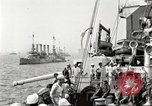 Image of US Navy Destroyer launches torpedo New York City USA, 1920, second 9 stock footage video 65675061036