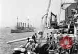Image of US Navy Destroyer launches torpedo New York City USA, 1920, second 10 stock footage video 65675061036