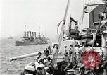 Image of US Navy Destroyer launches torpedo New York City USA, 1920, second 11 stock footage video 65675061036