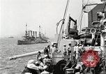 Image of US Navy Destroyer launches torpedo New York City USA, 1920, second 13 stock footage video 65675061036