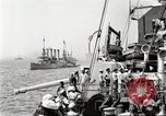 Image of US Navy Destroyer launches torpedo New York City USA, 1920, second 15 stock footage video 65675061036