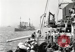 Image of US Navy Destroyer launches torpedo New York City USA, 1920, second 16 stock footage video 65675061036