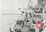 Image of US Navy Destroyer launches torpedo New York City USA, 1920, second 32 stock footage video 65675061036