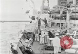 Image of US Navy Destroyer launches torpedo New York City USA, 1920, second 33 stock footage video 65675061036