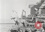 Image of US Navy Destroyer launches torpedo New York City USA, 1920, second 43 stock footage video 65675061036