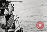 Image of US Navy Destroyer launches torpedo New York City USA, 1920, second 46 stock footage video 65675061036
