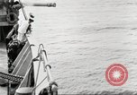 Image of US Navy Destroyer launches torpedo New York City USA, 1920, second 51 stock footage video 65675061036