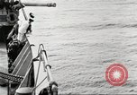 Image of US Navy Destroyer launches torpedo New York City USA, 1920, second 52 stock footage video 65675061036