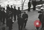 Image of British Navy Admiral Beatty in World War I Scotland, 1917, second 7 stock footage video 65675061040