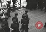 Image of British Navy Admiral Beatty in World War I Scotland, 1917, second 15 stock footage video 65675061040