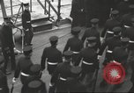 Image of British Navy Admiral Beatty in World War I Scotland, 1917, second 19 stock footage video 65675061040
