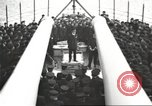 Image of British Navy Admiral Beatty in World War I Scotland, 1917, second 61 stock footage video 65675061040