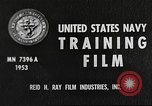 Image of sailors United States USA, 1953, second 3 stock footage video 65675061074