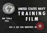 Image of sailors United States USA, 1953, second 4 stock footage video 65675061074