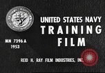 Image of sailors United States USA, 1953, second 6 stock footage video 65675061074